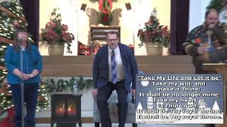 "January 3rd, 2021 Rev. Stephen R. Smith ""The Higher Call of Christ"" and Worship"