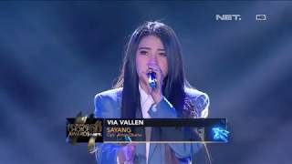 Video Via Vallen ft Boy William - Sayang I ICA 5.0 NET download MP3, 3GP, MP4, WEBM, AVI, FLV Juli 2018