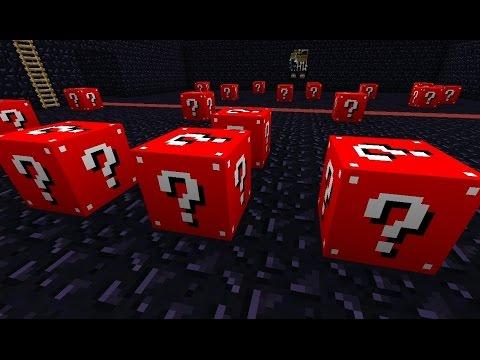 Minecraft RED LUCKY BLOCK MOD PvP!!! Trcim Kao Brzi Gonzalessssss