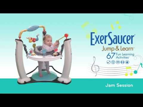 dc9c1830a Evenflo Exersaucer Jump   Learn Jam Session - YouTube