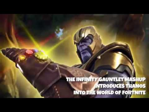 Avengers Infinity War And Fortnite Have A Crossover Of Epic