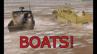 Arma 3 UNSUNG Vietnam Boat Highlights