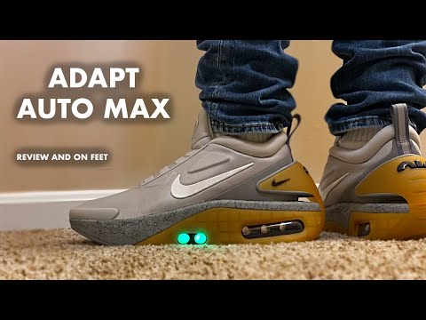 Nike Adapt Auto Max Motherboard Review And On Feet