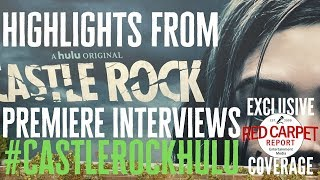 Highlights of Cast/Creator Interviews from the Castle Rock S2 Premiere on Hulu