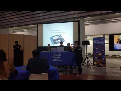 Project H.E.R Intel / Microsoft / IoT World Solutions Hackathon Presentation