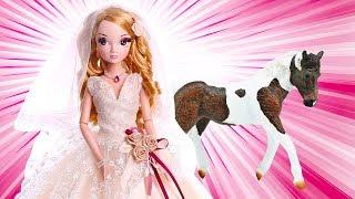Красивые куклы Sonya Rose. Видео для девочек и лошадки