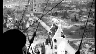1919: Aerial views of Ypres