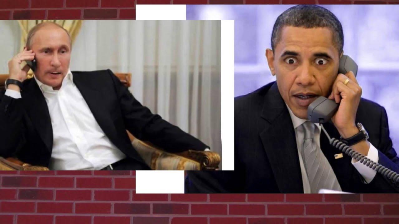 Obama And Putin Phone Call
