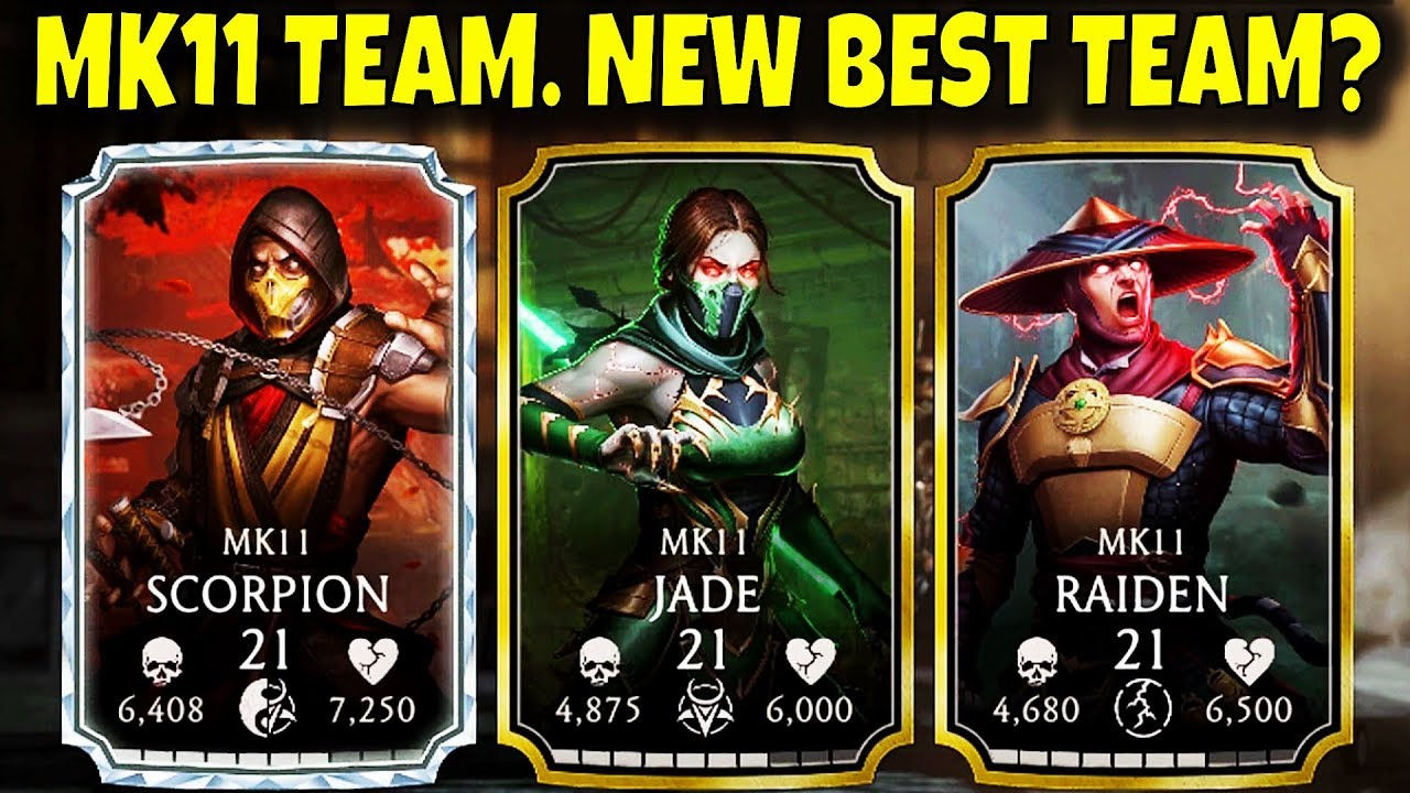 Mortal Kombat Mobile. MK11 Team Gameplay and Review. New Fatal Blows are AMAZING!