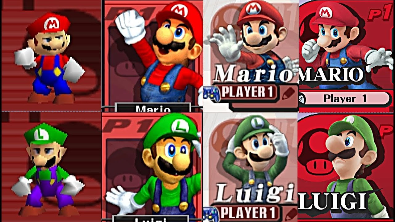 Evolution Of All Characters In Super Smash Bros (1999-2016) N64, Gamecube, Wii, 3DS, Nintendo Wii U