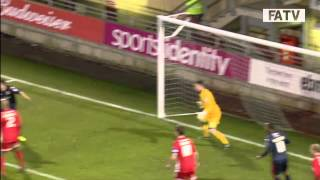 Leyton Orient vs Walsall 1 - 0, FA Cup Second Round Proper 2013-14 highlights