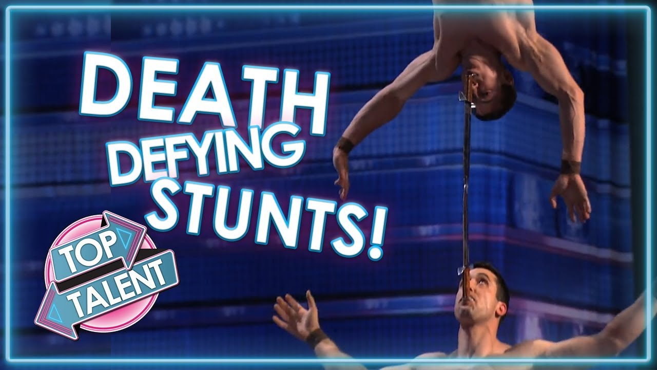 DEATH DEFYING STUNT AUDITIONS On America's Got Talent! | Top Talent