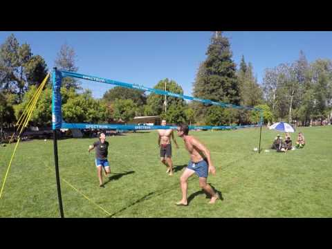 Park & Sun Sports Spectrum Classic: Portable Professional Outdoor Volleyball Net System Instructions