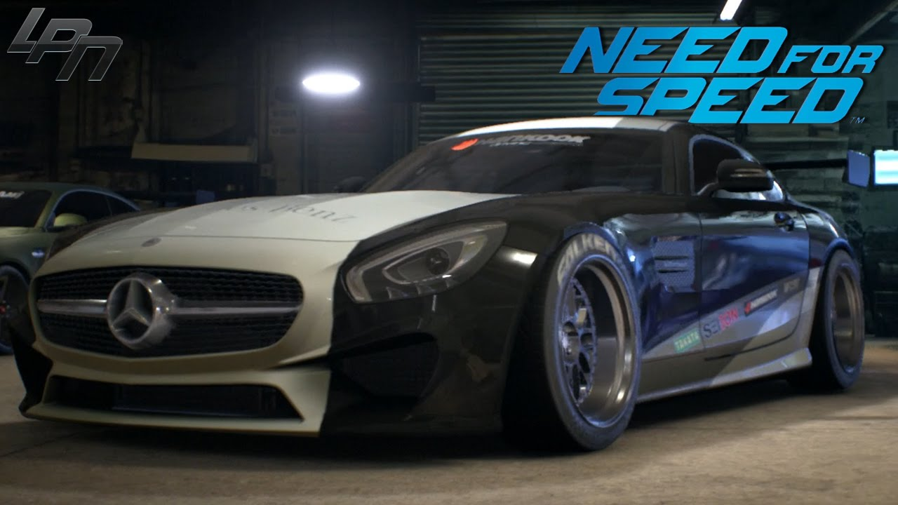 Fastest Car In The World 2015 >> NEED FOR SPEED (2015) - MERCEDES AMG GT GAMEPLAY (TUNING ...