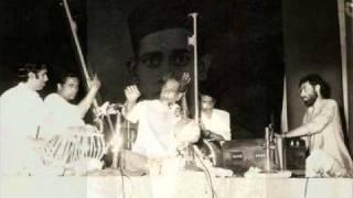 Pandit  Bhimsen Joshi - Raga Durga - Drut Bandish in Teental -  Chatura Sughara