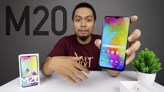 Galaxy M20 Unboxing