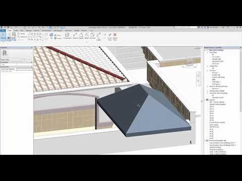 Revit Tips Spanish Roof Adaptive Insane Version Doovi