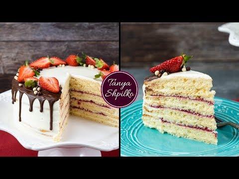 Нежный, Легкий и Домашний Торт «Молочная Девочка»  | Milchmädchen Cake | Tanya Shpilko