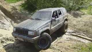 Gabriel's Jeep Grand Cherokee ZJ 5.2L V8 - #1 - Offroad Compilation [No Music]