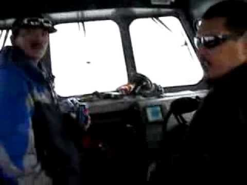 Arctic Research Summer Boat Sampling