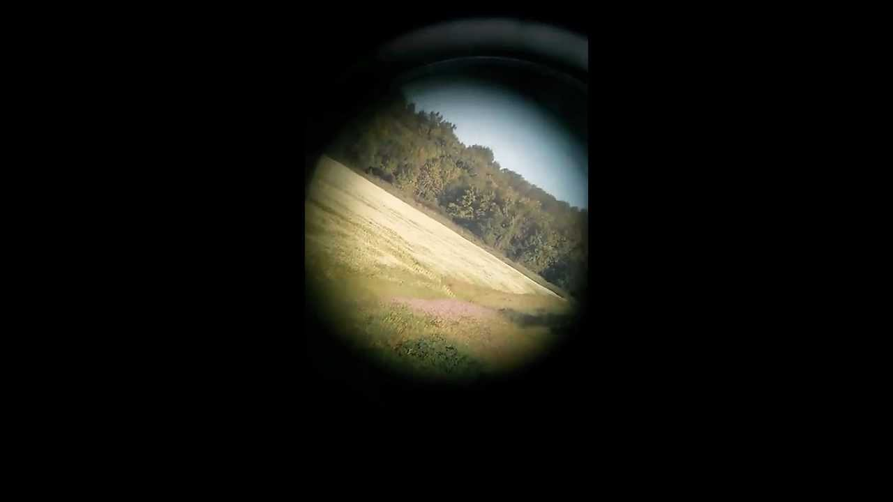 Looking Through Binoculars With A Cell Phone Camera
