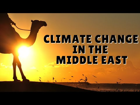 Climate Change and the Middle East-- Three Leading Scientists Share Their Insights