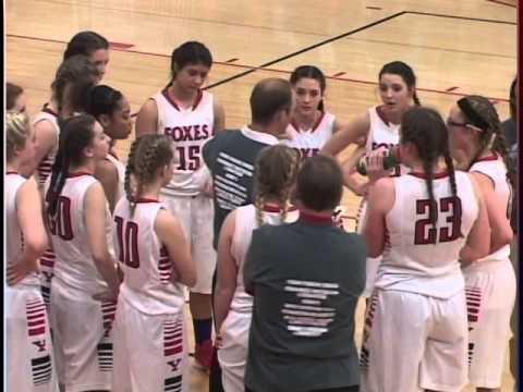 High School Girls Basketball Yorkville, IL vs Oswego, IL 2016