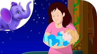 Go to Sleep my Baby - Nursery Rhyme with Lyrics and Sing Along