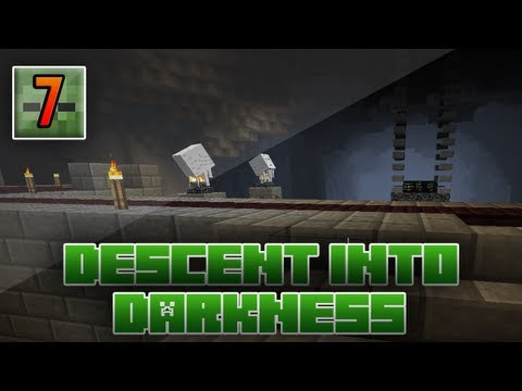 Minecraft - Descent Into Darkness: 7 - Cautious Steps