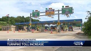 Pennsylvania Turnpike is raising tolls again