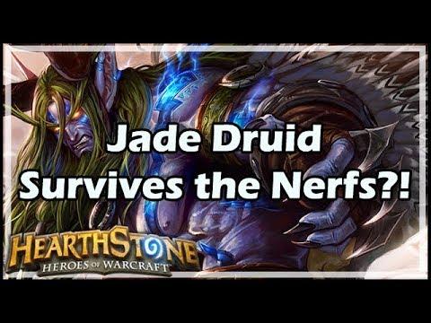 [Hearthstone] Jade Druid Survives the Nerfs?!