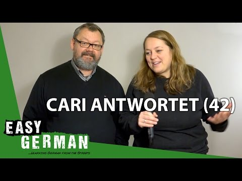 Cari Antwortet (42) - DANKE AN EUCH | Sind Deutsche Stubenhocker? | Deutsche und Polen