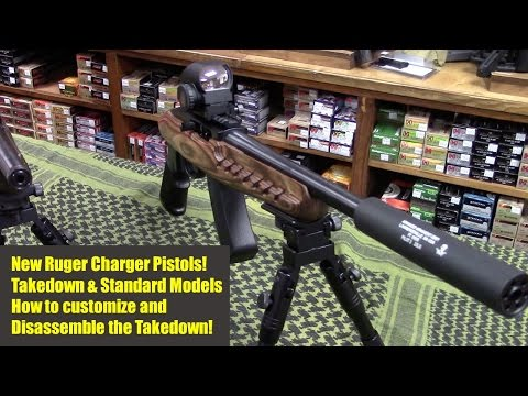 Ruger Charger 22 Pistols - How to Dissassemble the Takedown