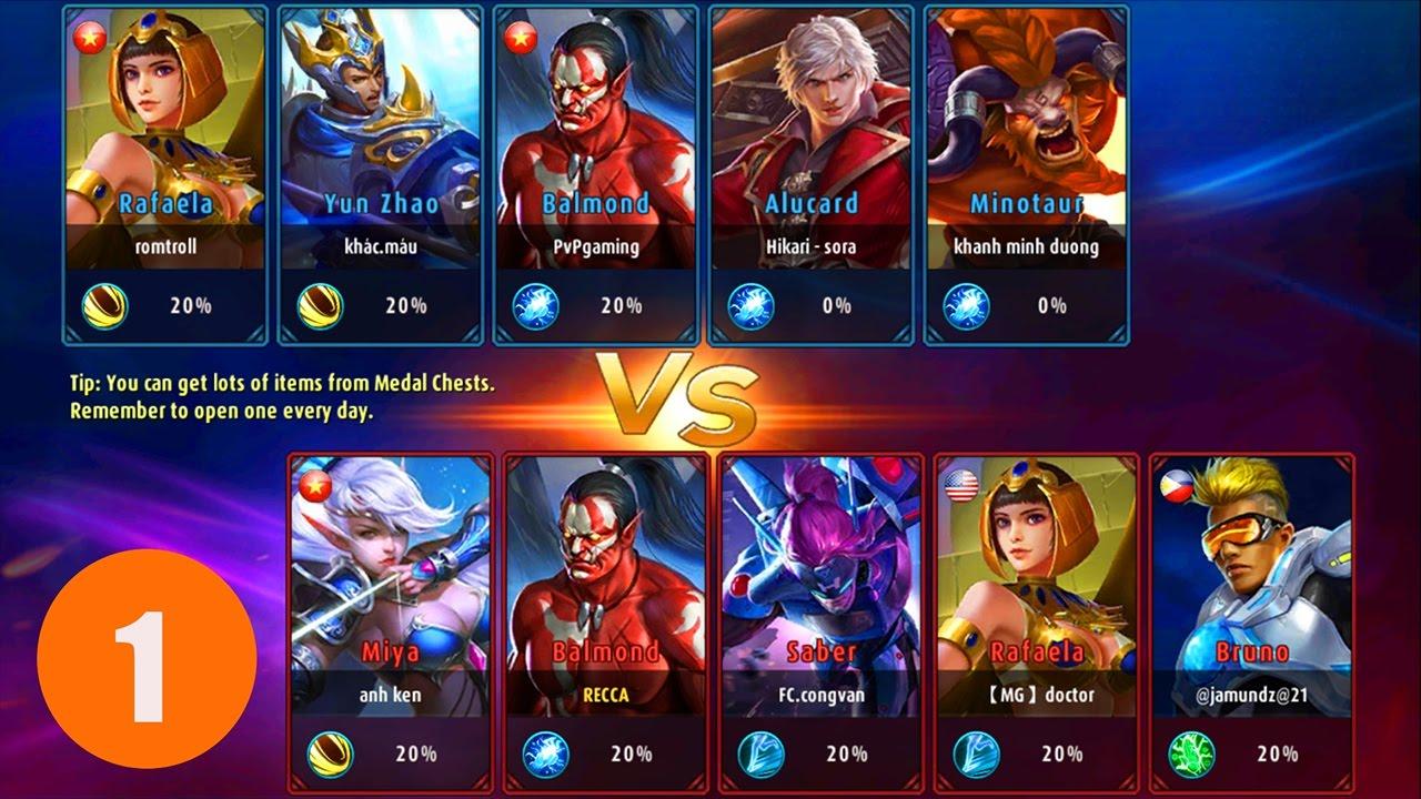 mobile legends: bang bang - league of legends mobile gameplay 5v5 - part 1
