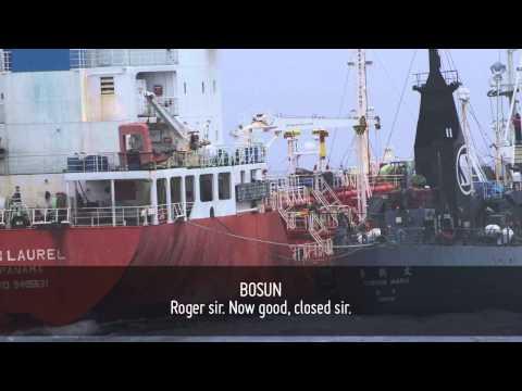 Intercepted Radio Transmission Confirms Japanese Whaling Fleet Oil Tanker Spill