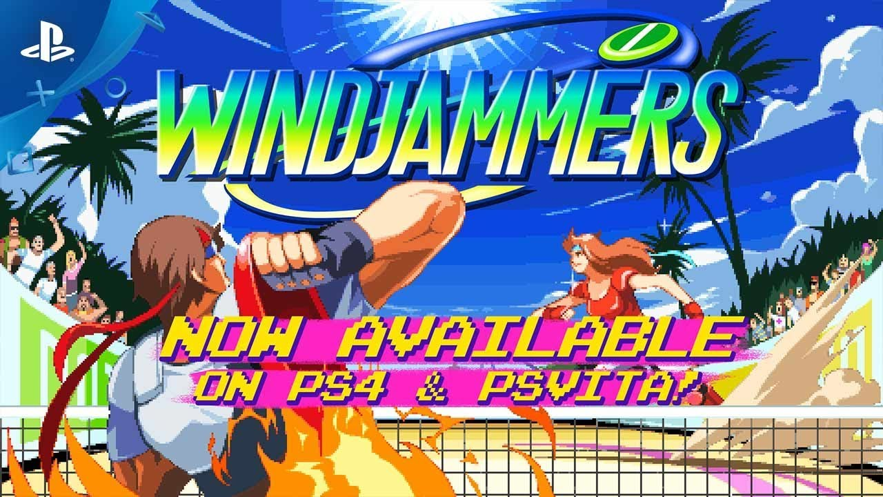 Windjammers - Launch Trailer | PS4, PS Vita