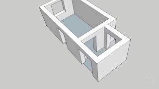 Моделирование помещения в SketchUp