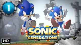 Sonic Generations ᴴᴰ (Part 1 - Green Hill) [PC, No Commentary]
