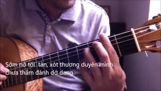 LK Trom nhin nhau - Ai kho vi ai (Quang Le - Ha Phuong) [Guitar solo] [K'K]
