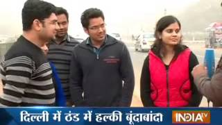 Sudden change in Delhi's weather with little drizzle