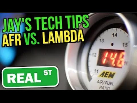 Lambda VS AFR - Jay's Tech Tips