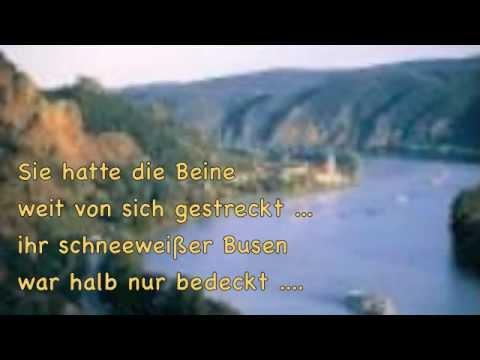 Einst ging ich am Strande der Donau entlang - mit Text