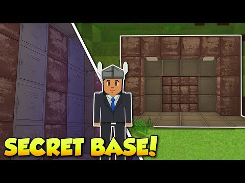 BUILDING A SECRET BASE & VAULT! - Voxel Turf Gameplay - Building a Base!