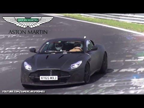 2018 Aston Martin Db11 S Spied Testing On The Nurburgring