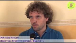 16-07-2013: Ninni De Nicolo presenta l'Exprivia Molfetta 2013-2014
