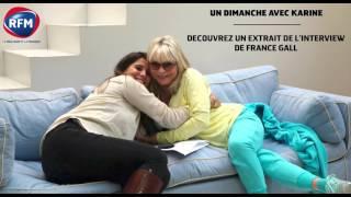 Un Dimanche avec Karine :  France  Gall / Sa reconstruction après le décès de sa fille