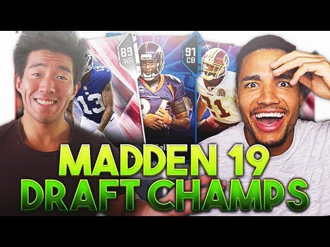 GAME OF THE AGES! MADDEN 19 DRAFT CHAMPIONS VS THATWALKER!