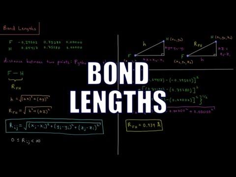 Computational Chemistry 1.6 - Bond Lengths