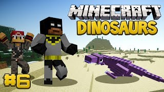 Minecraft Dinosaurs Mod (Fossils and Archaeology) Survival Series, Episode 6 - The T-Rex Hatched!