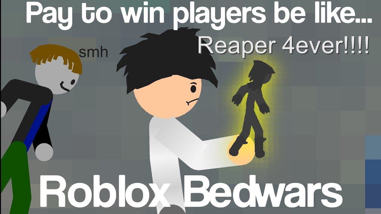 Pay to Win's be like... (Roblox Bedwars)